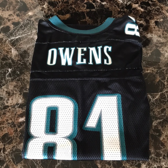 check out 6f25d 9be8d Terrell Owens Eagles jersey, Boys Large (14-16)